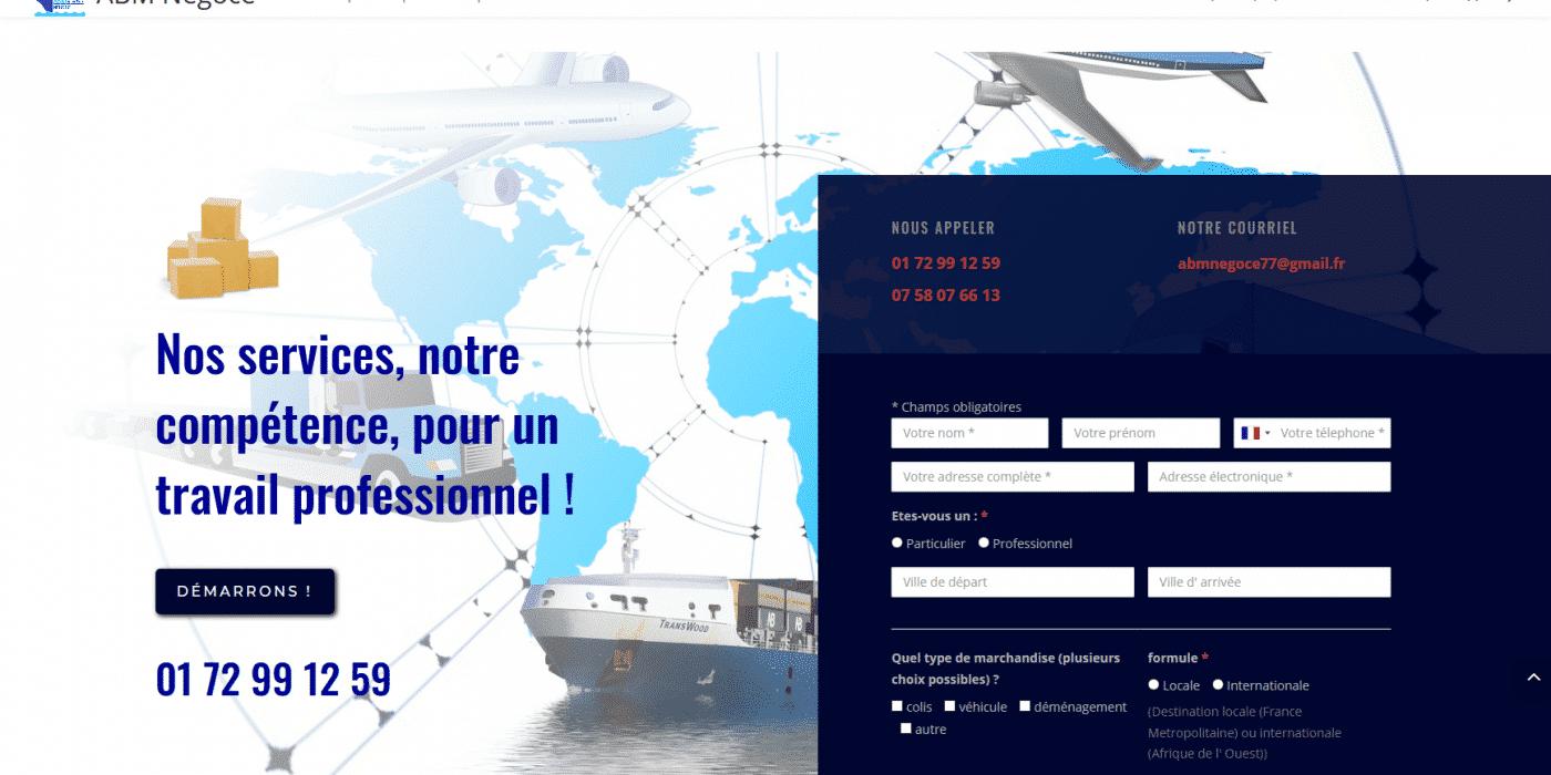 Accueil ABM Négoce Devis en Ligne
