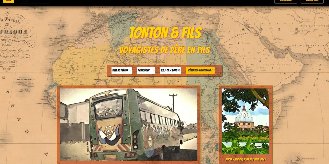Accueil Tonton & Fils php bdd
