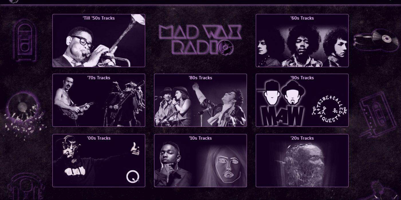 Accueil Mad Wax Radio Divi