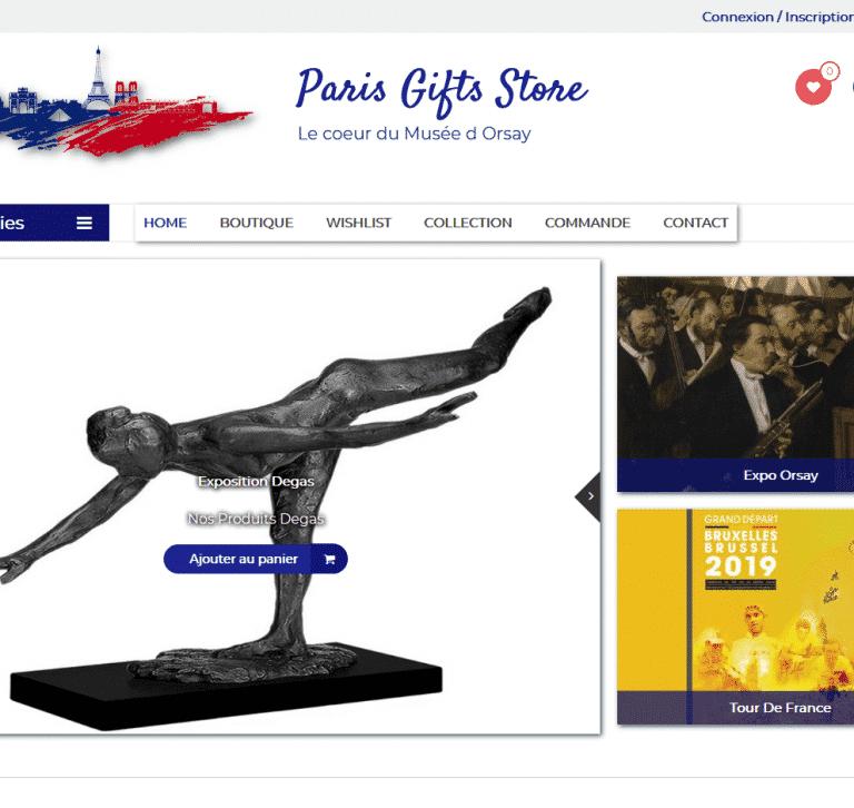 Accueil Slider Paris Gifts Shop